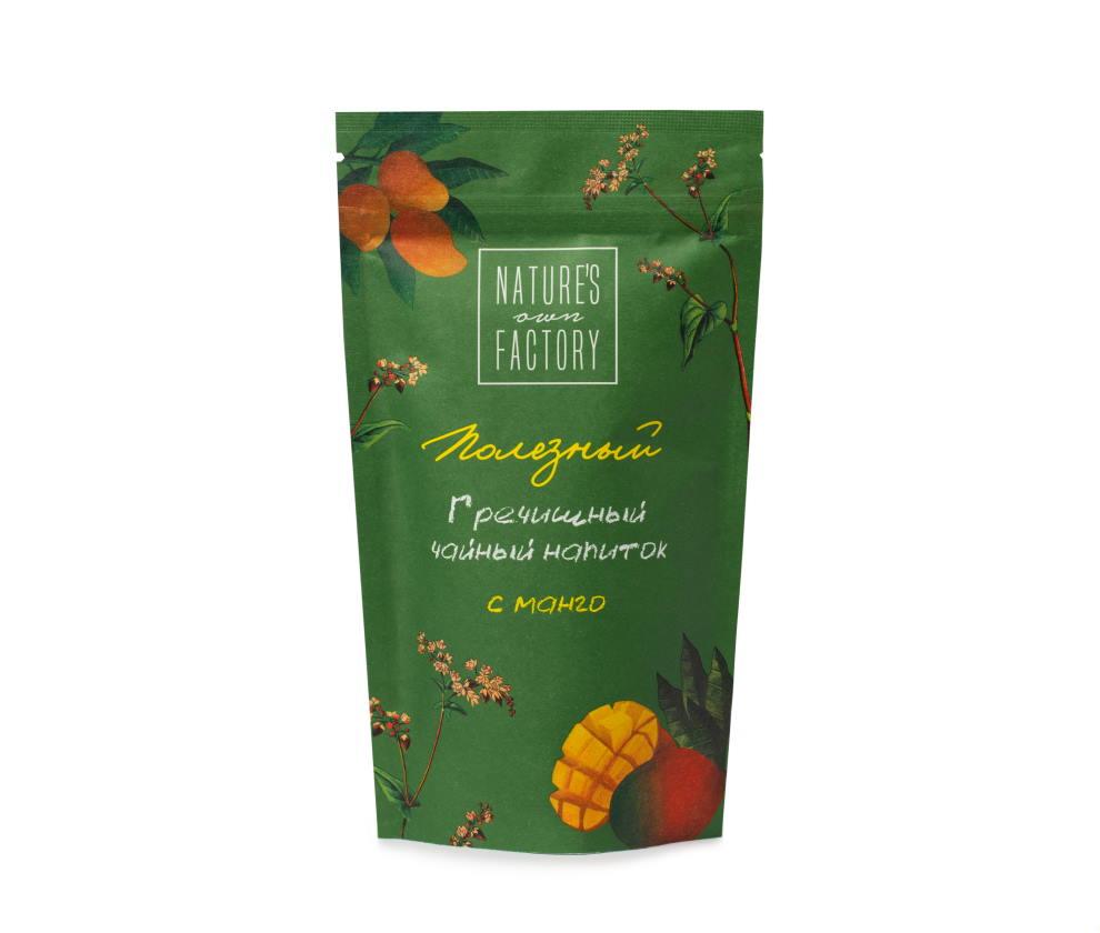 Купажированный гречишный чайный напиток манго