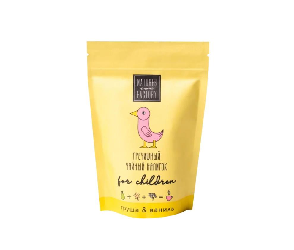 Гречишный чайный напиток для детей груша-ваниль